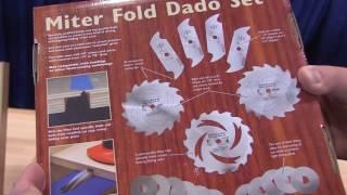AWFS News: Miter Fold Dado Set