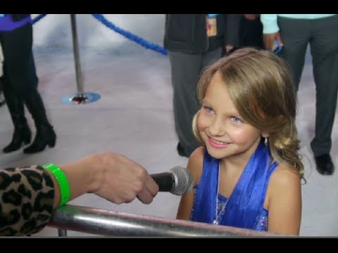 Frozen carpet interview with livvy stubenrauch youtube