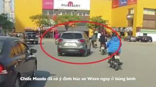 Mazda CX5 gây tai nạn rồi bỏ chạy