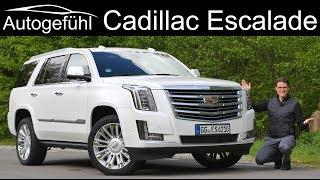 Cadillac Escalade FULL REVIEW - Autogefühl