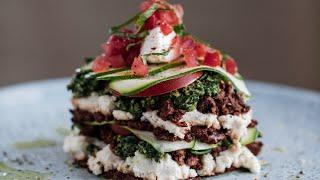 Raw food recipe for Lasagne (vegan / plant based)