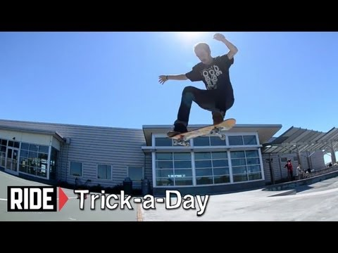 How-To 360 Flips With Caswell Berry - Trick-a-Day