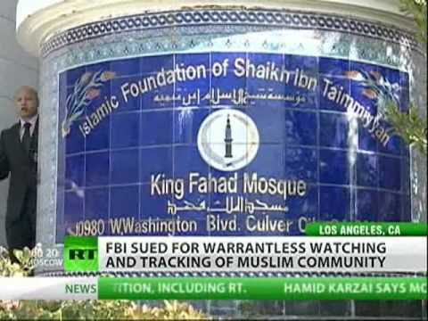 Muslims suing FBI, spying on worshipers