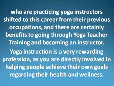 Benefits Of Being A Yoga Instructor