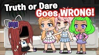 Truth or Dare Game Goes Wrong! 😳 ~ Gacha Life Mini Movie // Short Film // Gachaverse