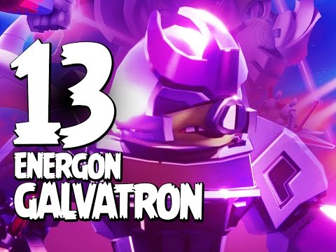 Angry Birds Transformers - Gameplay Walkthrough Part 13 - Energon Galvatron Lights IT Up