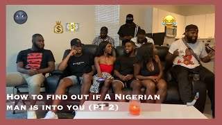 How To Find Out if a Nigerian Man is Into You