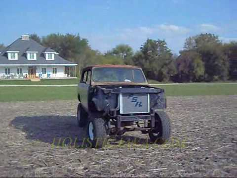 IH INTERNATIONAL SCOUT II 6.5 TURBO DIESEL 5 SPEED MAIDEN VOYAGE TEST DRIVE + HILL CLIMB!