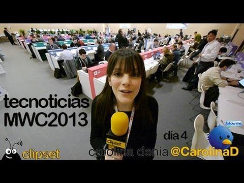 Tecnoticias Mobile World Congress 2013 día 3 (Samsung Note 8, Blackberry Q10, i´m watch)