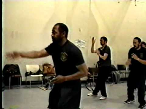 Modern Arnis - Basic Empty Hand Shielding & Entering - Punong Guro Tom Bolden