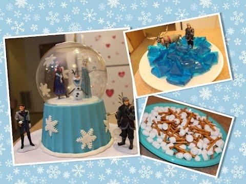 Bolo Frozen + Doces de festa -- Sugestão 2