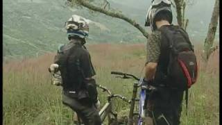 Downhill mountain biking in Costa Rica