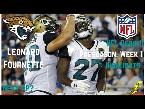 Leonard Fournette Nfl Debut Preseason Week 1 Highlights