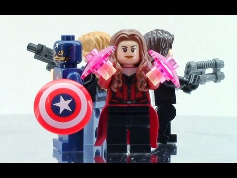 LEGO Captain America: Civil War Set #76051 360° View!
