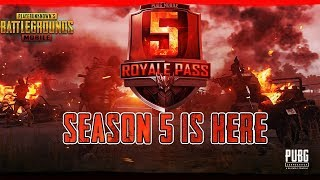 PUBG MOBILE | SEASON 5 UPDATE | AIRDROP HUNTING AND RUSH GAMEPLAY 😍 PURCHASING ROYAL PASS 100
