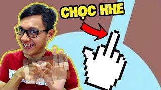 """Sơn Đù DÙNG """"CHUỘT"""" CHỌC VÀO """"K-H-E"""" CỰC ĐIÊU LUYỆN - Frustration Game (Sơn Đù Funny Moments)"""