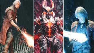 Dante Reactions to New Weapons 2001-2019  DMC1-DMC5 | Devil May Cry 5