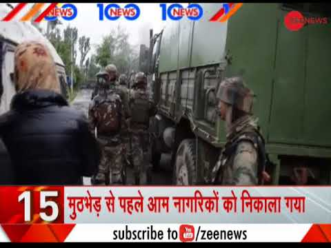 News 100: 3 Terrorists killed in encounter in Jammu And Kashmir's Pulwama