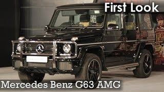 First Look: Mercedes Benz G63 AMG launched in India.
