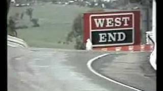 Bathurst 1987 - Brocky in the wet