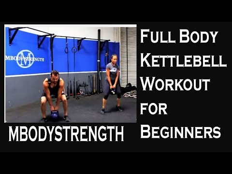 Full Body Kettlebell Workout for Beginners Image 1