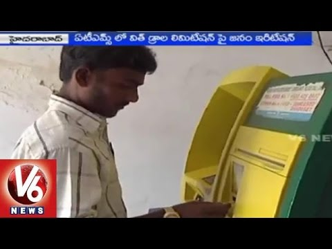 Banks charges money with limitation of ATM withdraws - Hyderabad(20-02-2015)