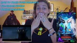 How To Train Your Dragon 3 The Hidden World Official Trailer REACTION!