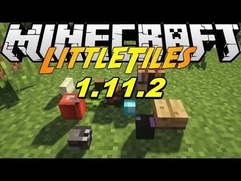 Top1mc - Little Tiles Mod 1.11.2 - Minecraft Installation & Review
