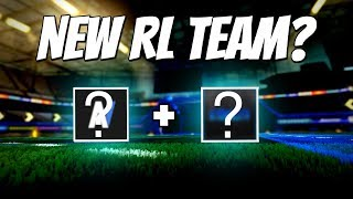 PLAYING WITH MY NEW ROCKET LEAGUE TEAM?   Road to Grand Champ (Competitive 3v3)