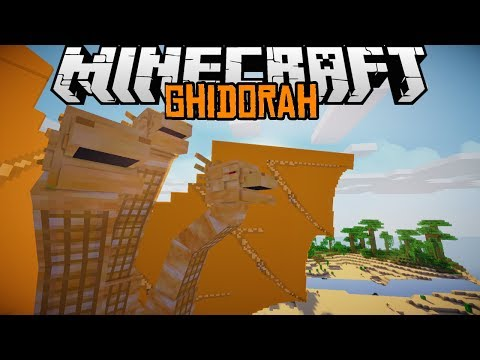 Minecraft mody 1.7.2 #65 KING GHIDORAH