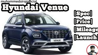Hyundai Venue- SUV with blue link Review|Test-drive|Launch|Price|Specs|Mileage|