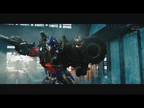 Transformers 2 (2009) - Optimus vs Megatron, Blackout and Starscream -  Only Action [4K]