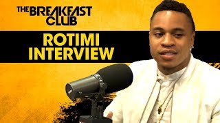 Rotimi Talks Dre on Power, His New EP, LaLa