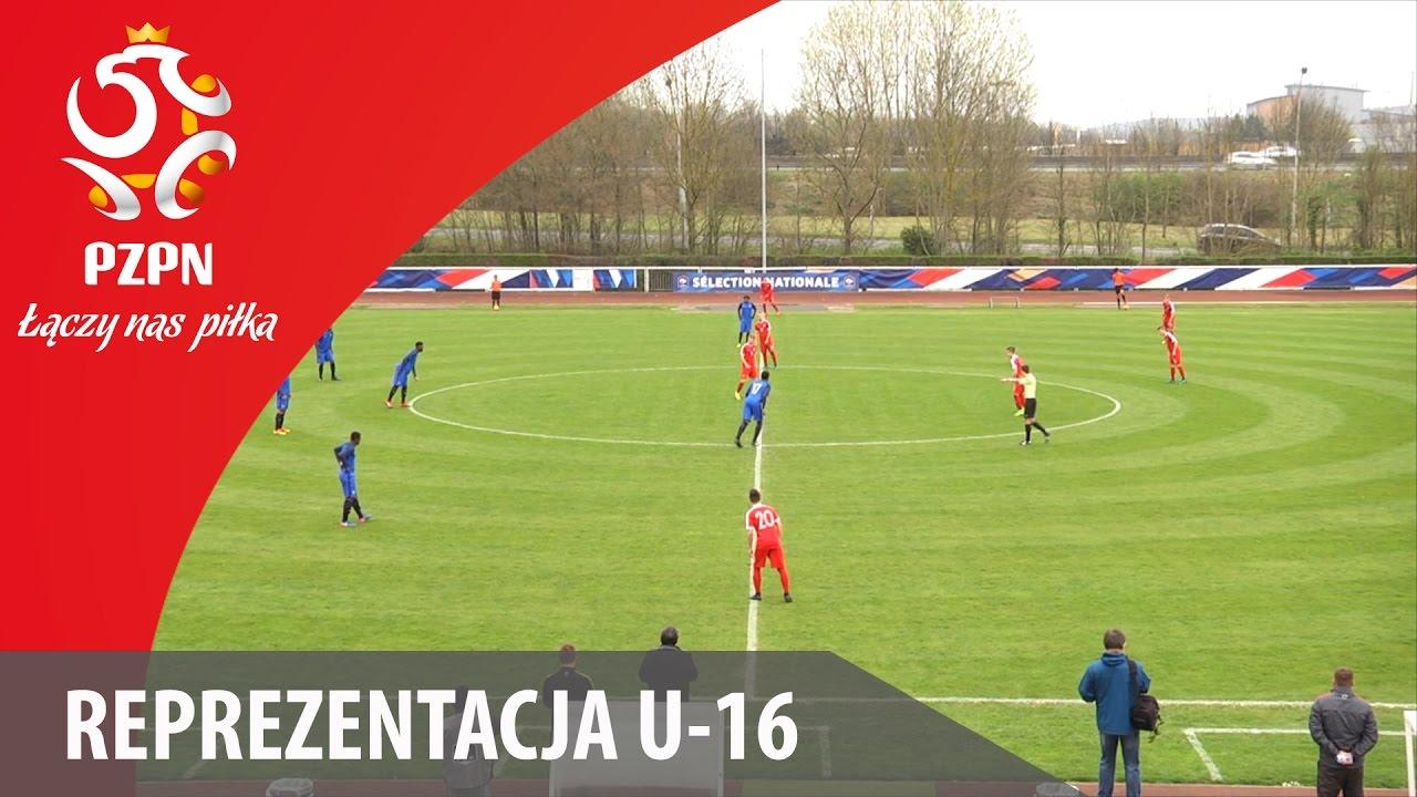 U-16: Bramki z meczu Francja - Polska