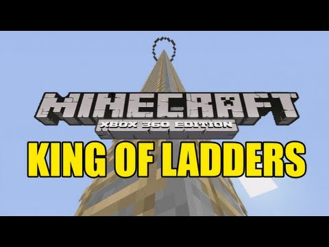 Minecraft (Xbox360) King of Ladders - Minigame (TU11)