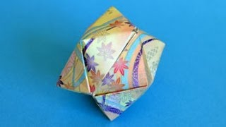 Origami Waterbomb Instructions: Www.origami-fun.com