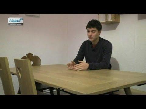 alix designer remet les meubles alsaciens au go t du jour youtube. Black Bedroom Furniture Sets. Home Design Ideas