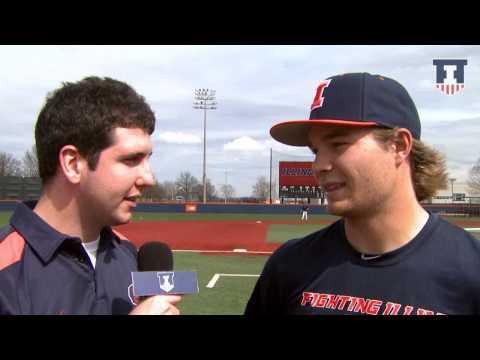Illinois Baseball David Kerian Interview 4/2/15
