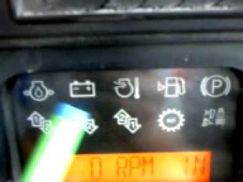Cemento Sur Tractor D6R II - Tablero de control