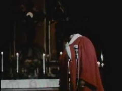 MAHALIA JACKSON Live  late 1960's  We shall overcome