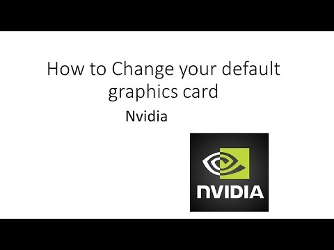 Tutorial: How to change your graphics card for Minecraft (Nvidia)