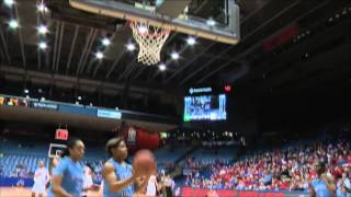 Postgame: Dayton Women's Basketball vs Rhode Island