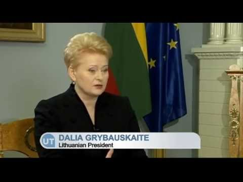 'Ukraine, you are not alone': Interview with Lithuanian President Dalia Grybauskaite