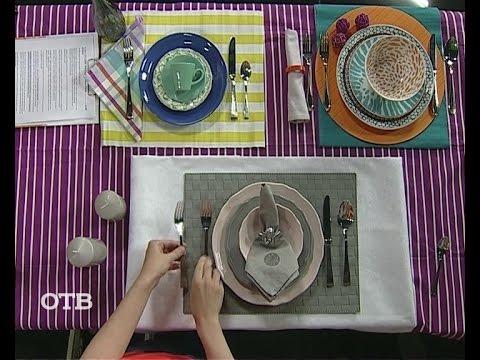 Учимся правильно сервировать стол (11.08.15)