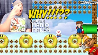 WHY THE F#%K WOULD YOU MAKE THIS!!? [SUPER MARIO MAKER] [#21]