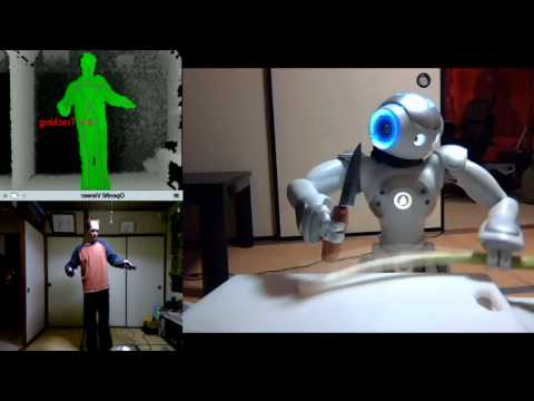 Improved Humanoid Robot Teleoperation with NAO and Kinect