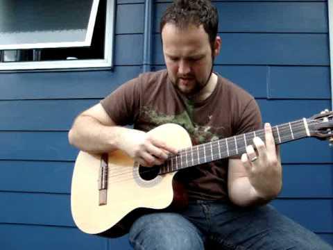 Lenny Breau Harmonics Mini lesson 5