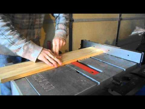 DIY Project Making a Drop Riffle Sluice (Part 1)