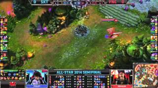 SKT vs FNC - 2014 All-Star Semifinal G1