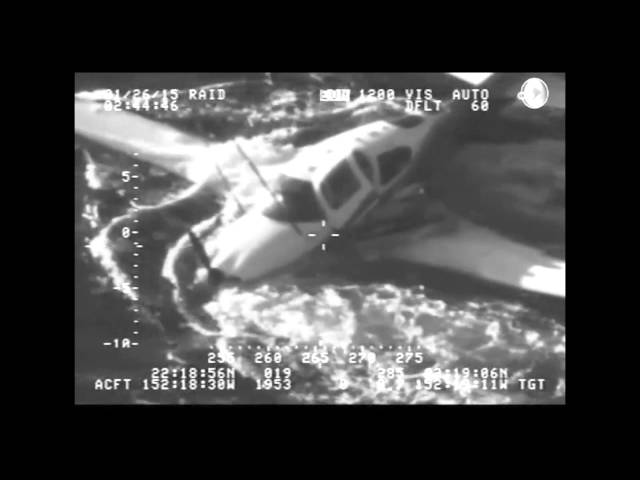 Video: Pilot ditches plane NE of Maui
